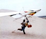 Hang-gliding in Kitty Hawk