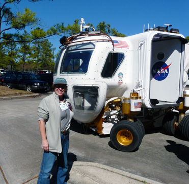 Standing by a rover for future planetary missions